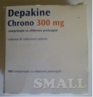 Депакин Хроно 300 мг Depakine Chrono 300 mg №100