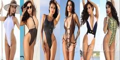 Сексуальный модный супер купальник слитный монокини бразилиана сплошной