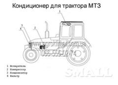 Кондиционер для трактора МТЗ в Николаеве
