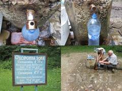 Минеральная вода Плосковская углекислая, гидрокарбонатно-натриевая, борная