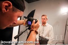 Съемка рекламного видео.