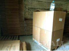 Ящик картонный большой 800х600х700.