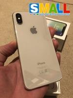 IPhone X 128GB Neverlock Silver! В Хорошем состоянии 4+