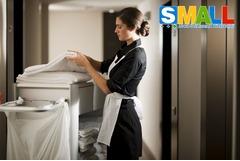 Требуется уборщица в небольшое жилое помещение