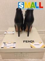 Продам Ботильоны полуботинки туфли Fendi, высокий каблук 13см