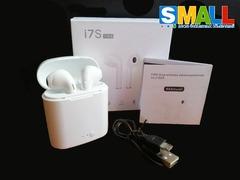 Беспроводные наушники I7S tws Bluetooth, с кейсом для зарядки, аналог AirPods