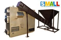 Котел воздушного отопления с автоматической подачей щепы, тырсы мощностью 150кВт от Производителя